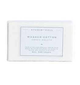 K Hall Washed Cotton 8oz Soap