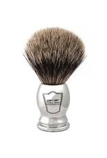 Howi Inc Pure Badger Brush, Chrome Handle