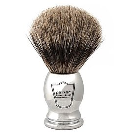 Howi Inc Pure Badger Brush, Chrome Handle