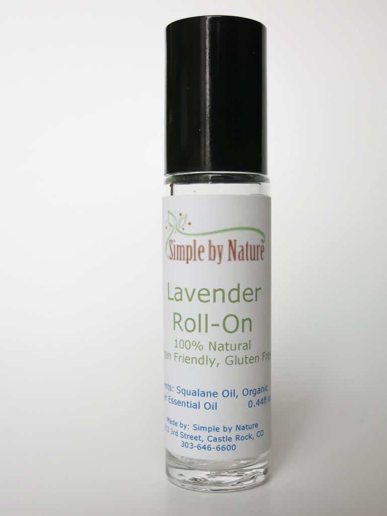 Simple By Nature Lavender Roll On