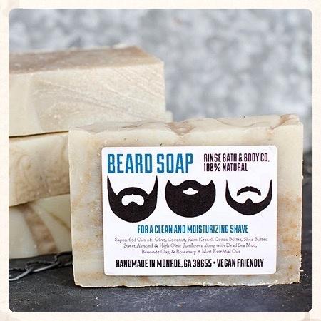 Rinse Beard Bar Soap 4.5oz