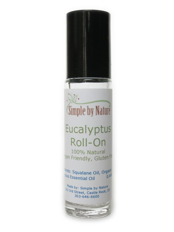 Simple By Nature Eucalyptus Roll On