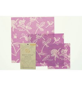 Beeswraps Beeswraps Assorted Wraps (S, M, L) Clover Print
