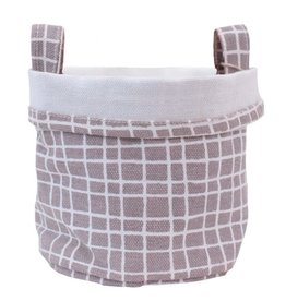 Maika Maika Canvas Bucket with Patterns
