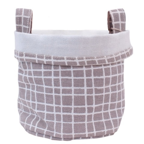Maika Maika Canvas Bucket with Patterns