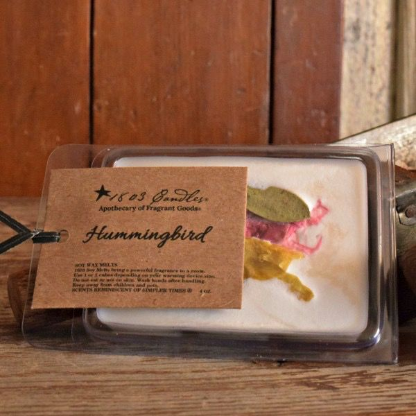 1803 Candles Hummingbird - 4oz Soy Melter