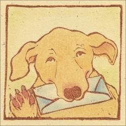 Bottman Design Gift enclosure - Dog Mail