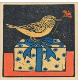 Bottman Design Gift Enclosure Card - Bird on a Box