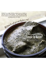 Simple By Nature Coffee Oatmeal Facial Scrub 75g