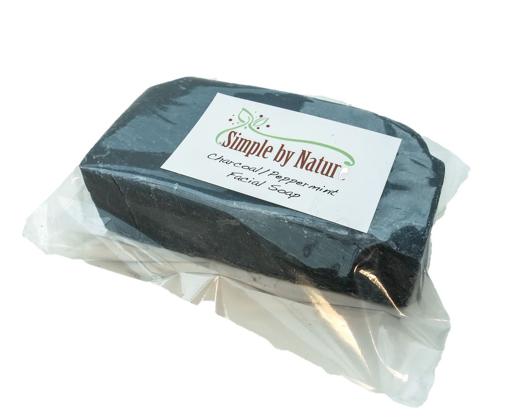 Simple By Nature Simple By Nature Face Pepp/Charcoal Soap