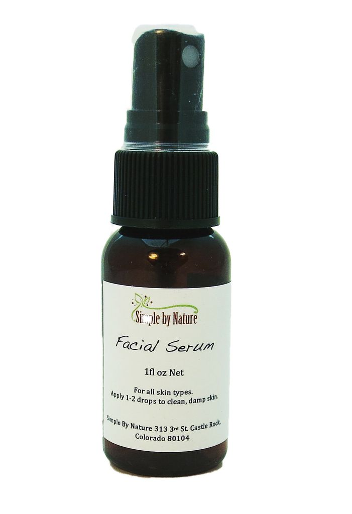 Simple By Nature Organic Facial Serum 1fl oz