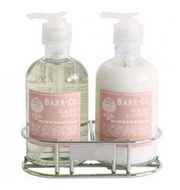 Barr Co Lotion & Soap Caddy Duo - Honeysuckle