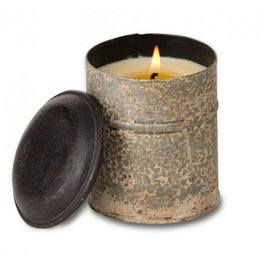 Himalayan Trading Post Spice Tin Soy Pot - Ginger Patchouli Candle