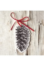 Hester and Cook Pinecone Gift Tag pack 12