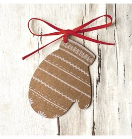 Hester and Cook Mitten Gift Tag pack 12