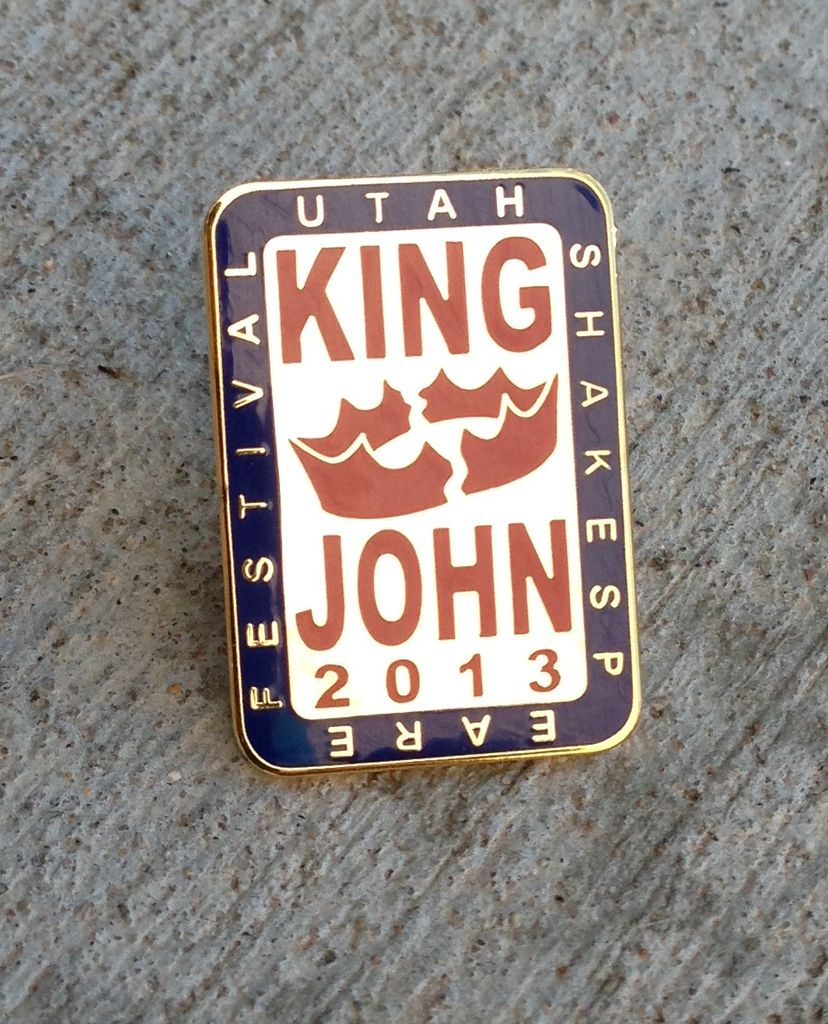 USF Complete the Canon Pin 2013 King John