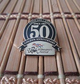 Alan Knight Utah Shakespeare Festival 50th Pins