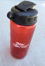 Power Image 20 oz Red Water Bottle
