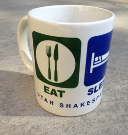Power Image Eat Sleep Play Mug