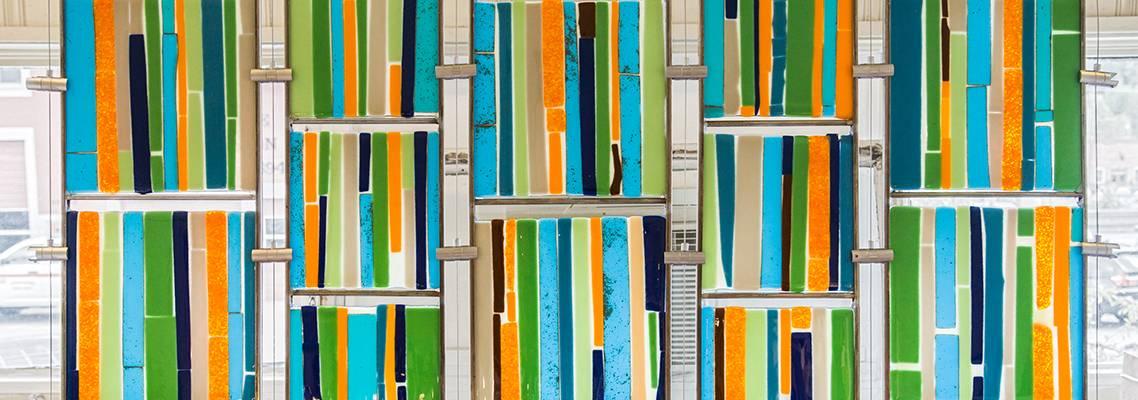 glass tapestry