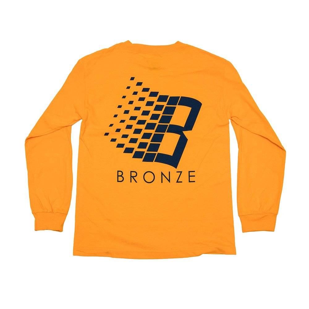Bronze 56K Bronze B Logo Longsleeve - Gold