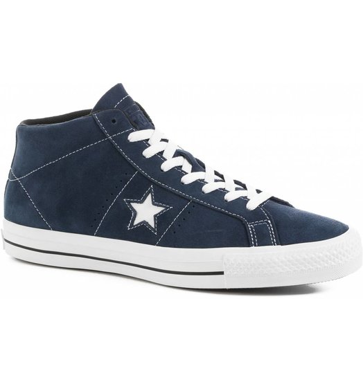 Converse One Star Mid Blue White