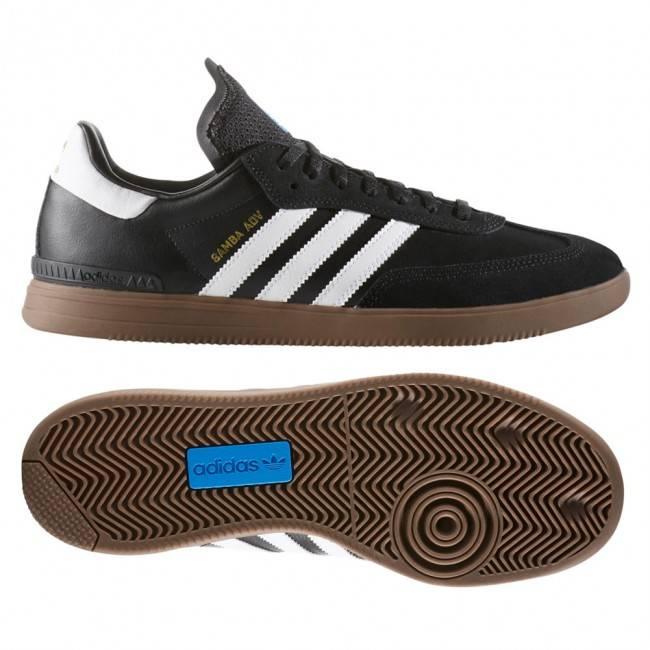Adidas Adidas Samba ADV - Black/White/Gum