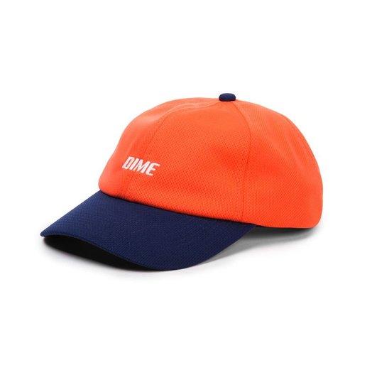 Dime Dime Mesh Snap-Back Cap - Coral & Navy