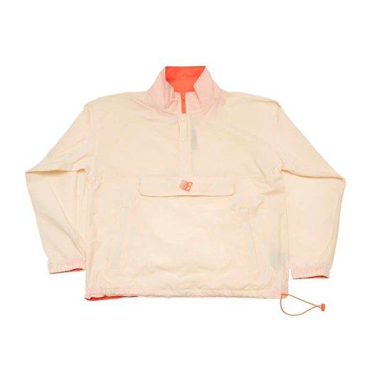 Bronze 56K Bronze 56K Half Zip Pullover Jacket - Cream