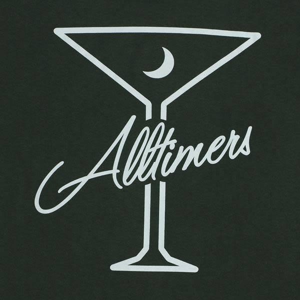 Alltimers Alltimers Late Longsleeve - Forest Green
