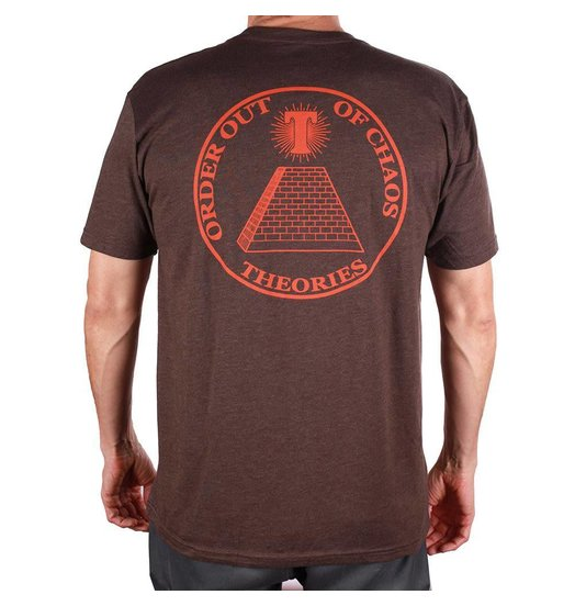 Theories Theories Chaos Tee - Espresso