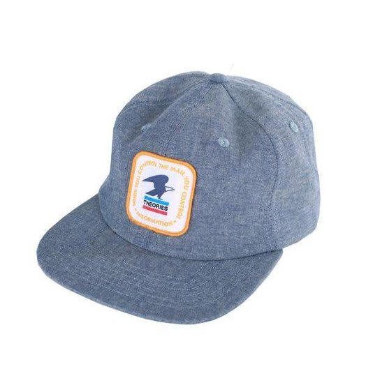 Theories Theories Newman Cap - Chambray Blue