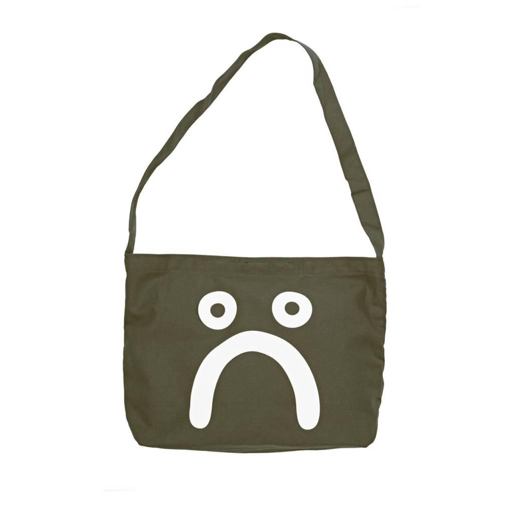 Polar Polar Happy Sad Tote Bag - Olive