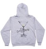 Alltimers Alltimers Watercolor Logo Hood - Grey