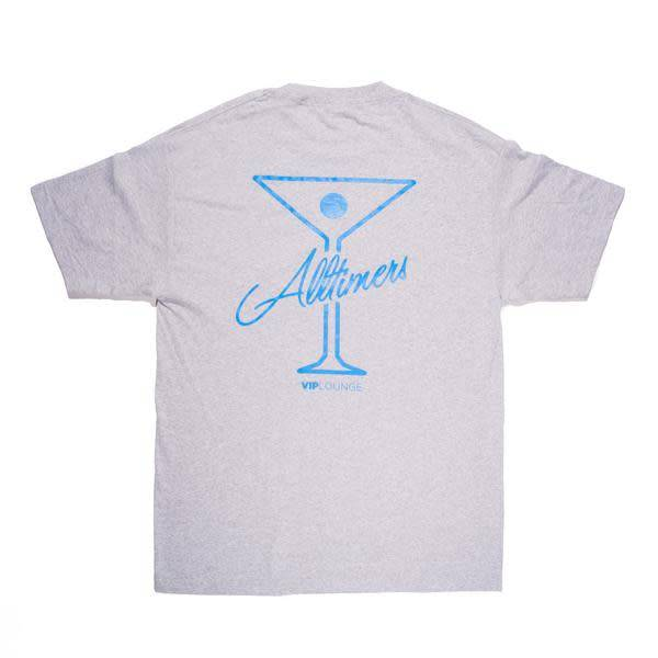 Alltimers Alltimers League Player Tee - Grey/Blue