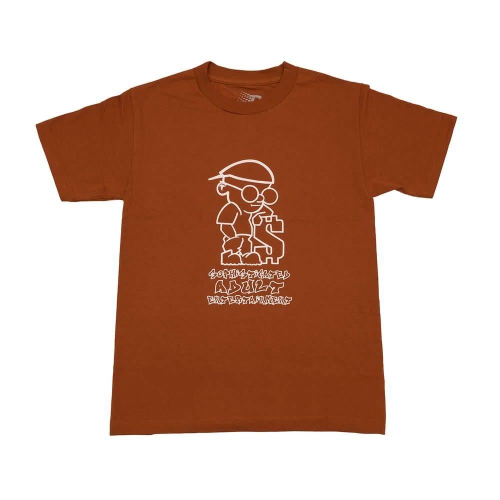 Bronze 56K Bronze Sophisticated Guy Tee - Texas Orange