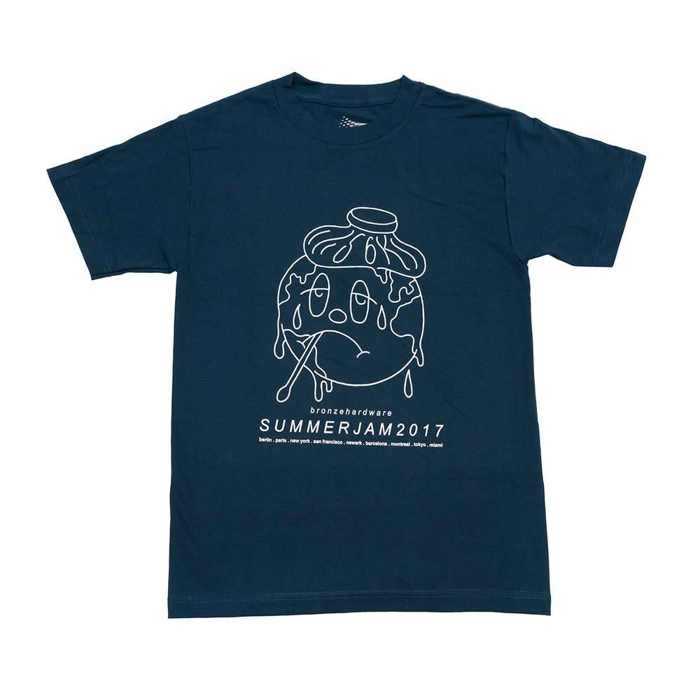 Bronze 56K Bronze Summerjam Tee - Harbor Blue