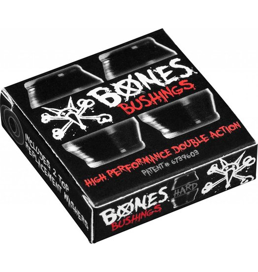 Bones Bones Hardcore Bushings Hard - Black
