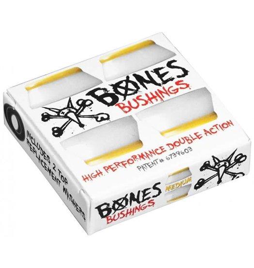 Bones Hardcore Bushings Medium - White