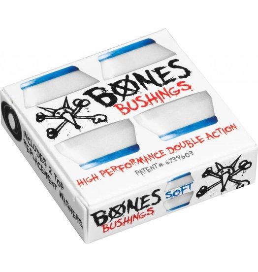 Bones Hardcore Bushings Soft - White