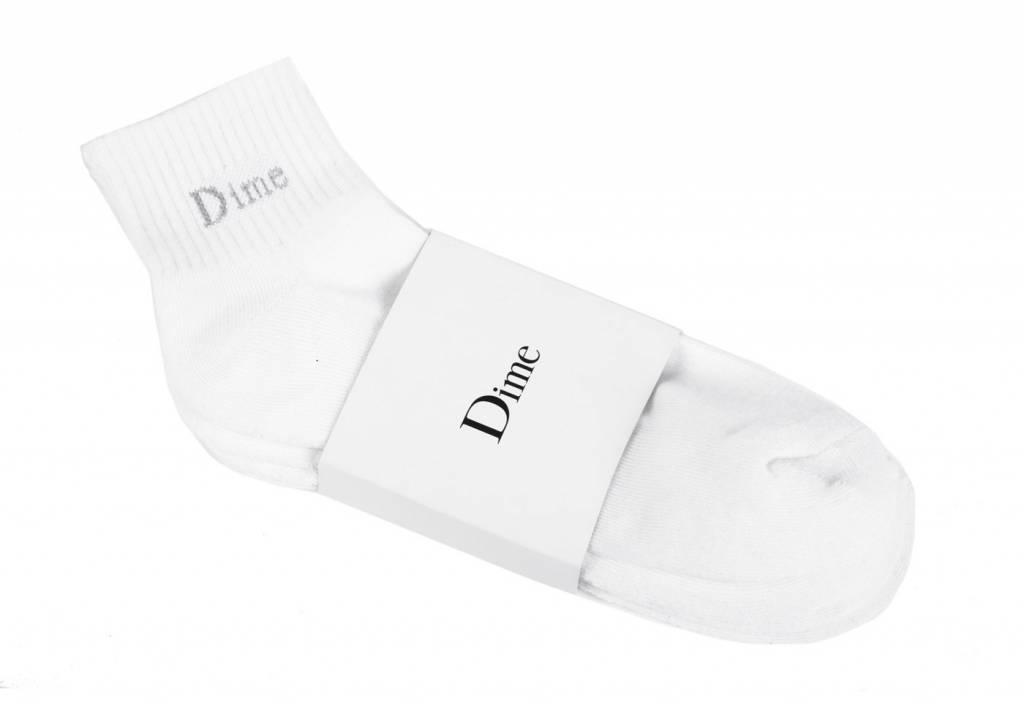 Dime Dime Socks 2 Pack - White