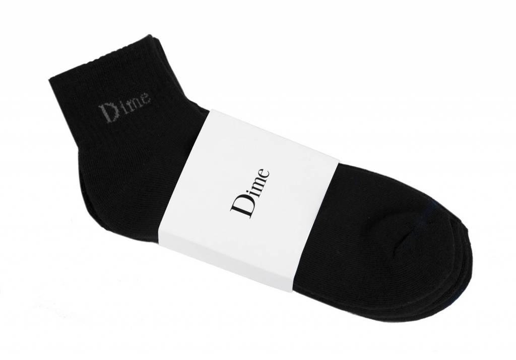 Dime Dime Socks 2 Pack - Black