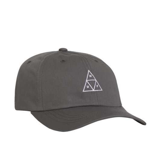 HUF Huf Triple Triangle Curved Visor Hat - Charcoal