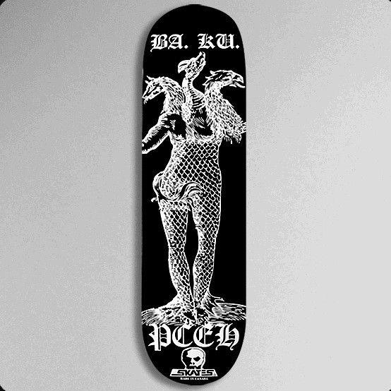 Skull Skates BAKU Permafrost Deck - 8.75