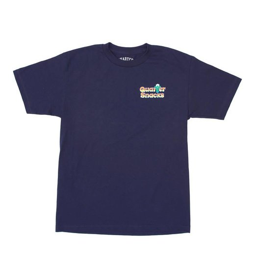 Quartersnacks Quartersnacks Cactus Tee - Navy
