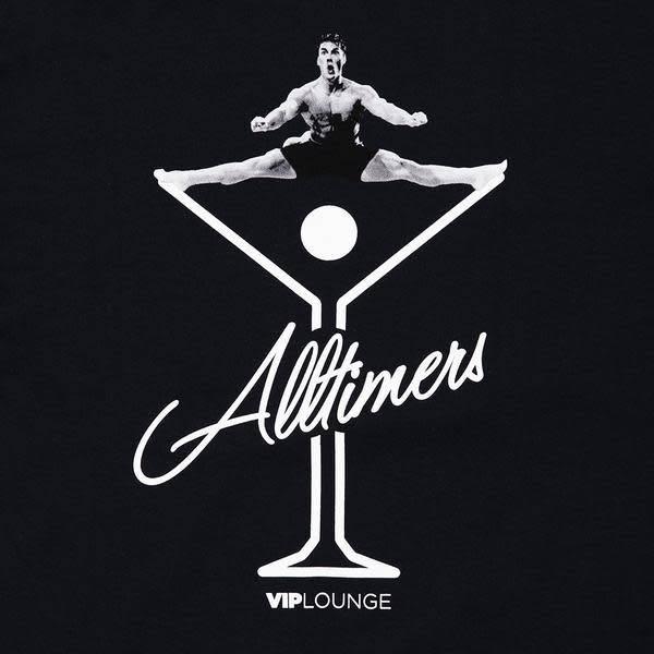 Alltimers Alltimers Splits Tee - Navy