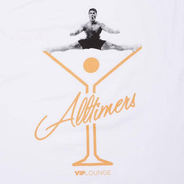 Alltimers Alltimers Splits Tee - White