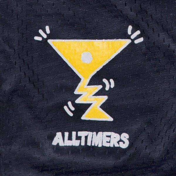 Alltimers Alltimers Action Logo Mesh Shorts - Navy