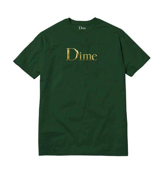 Dime Dime Legendary Logo Tee - Emerald Green