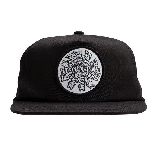 Fucking Awesome Fucking Awesome Spiral Hat - Black